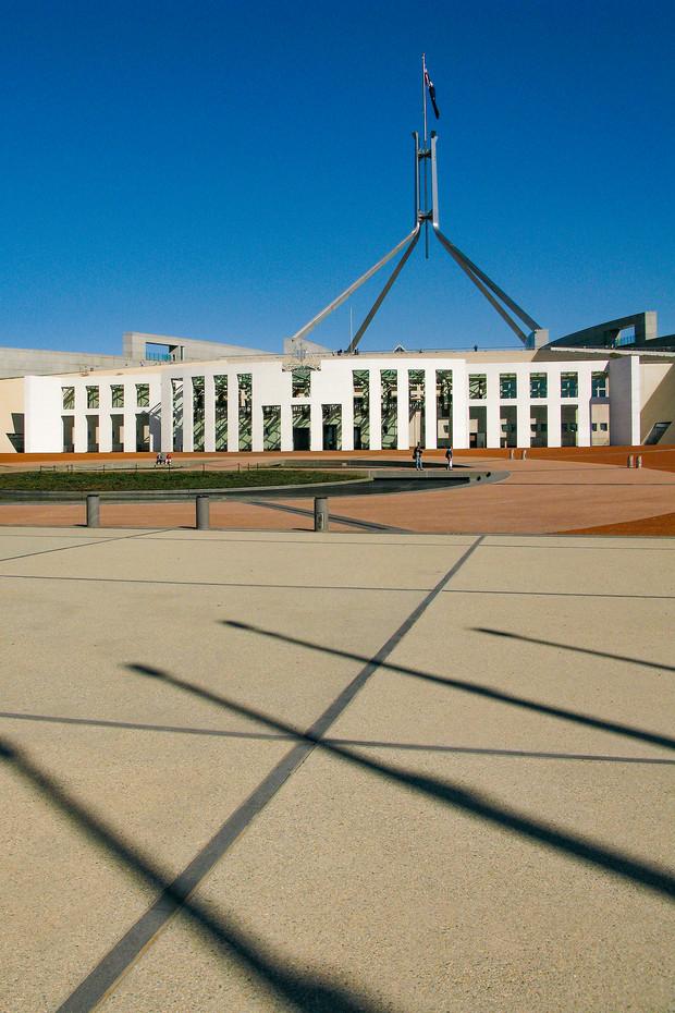 Parliament House in Canberra, Australia
