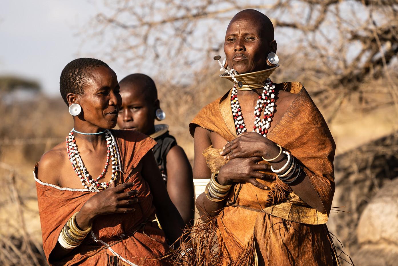 Datoga women in Makao Village, Tanzania