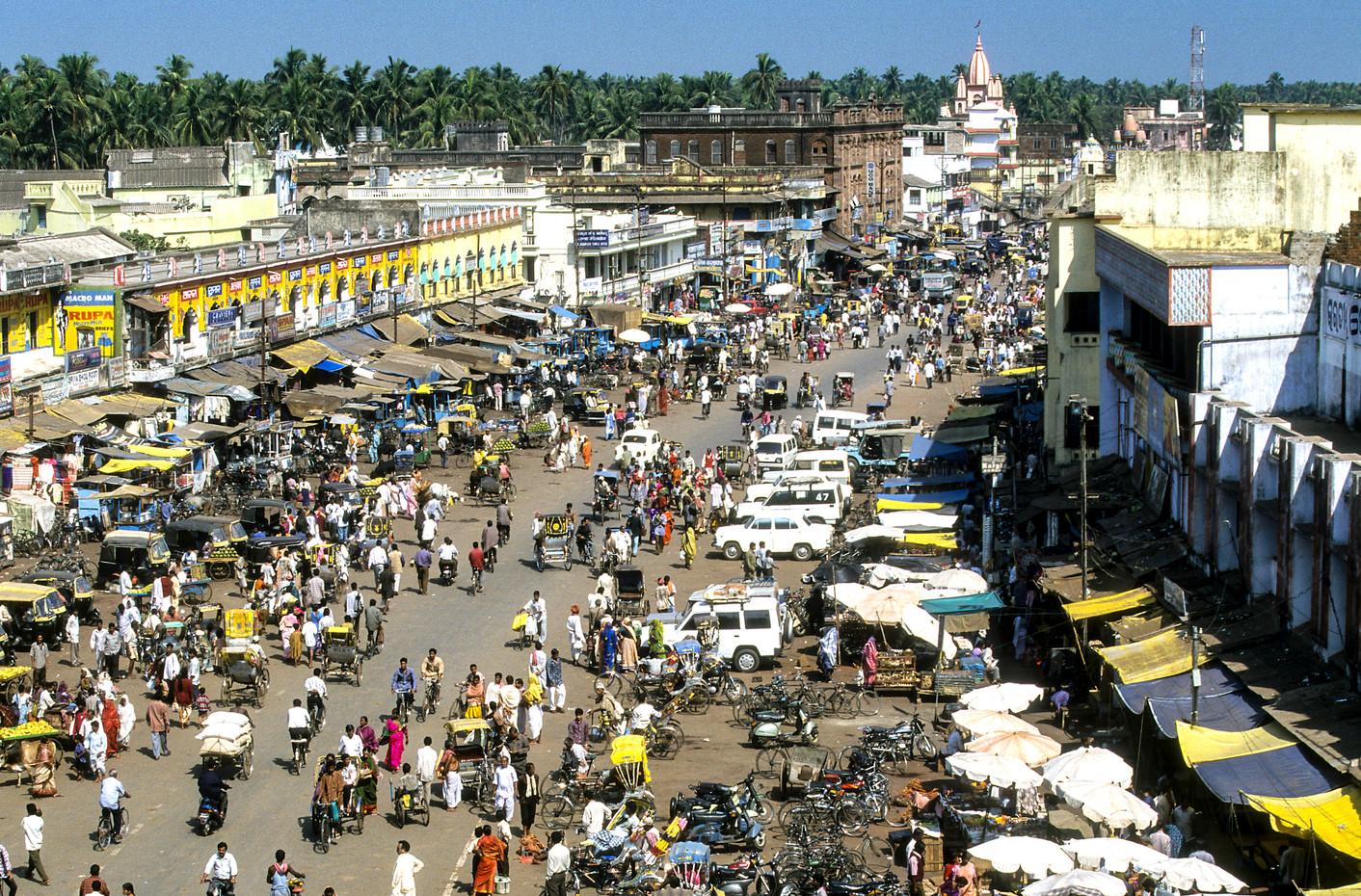 Street scene, India