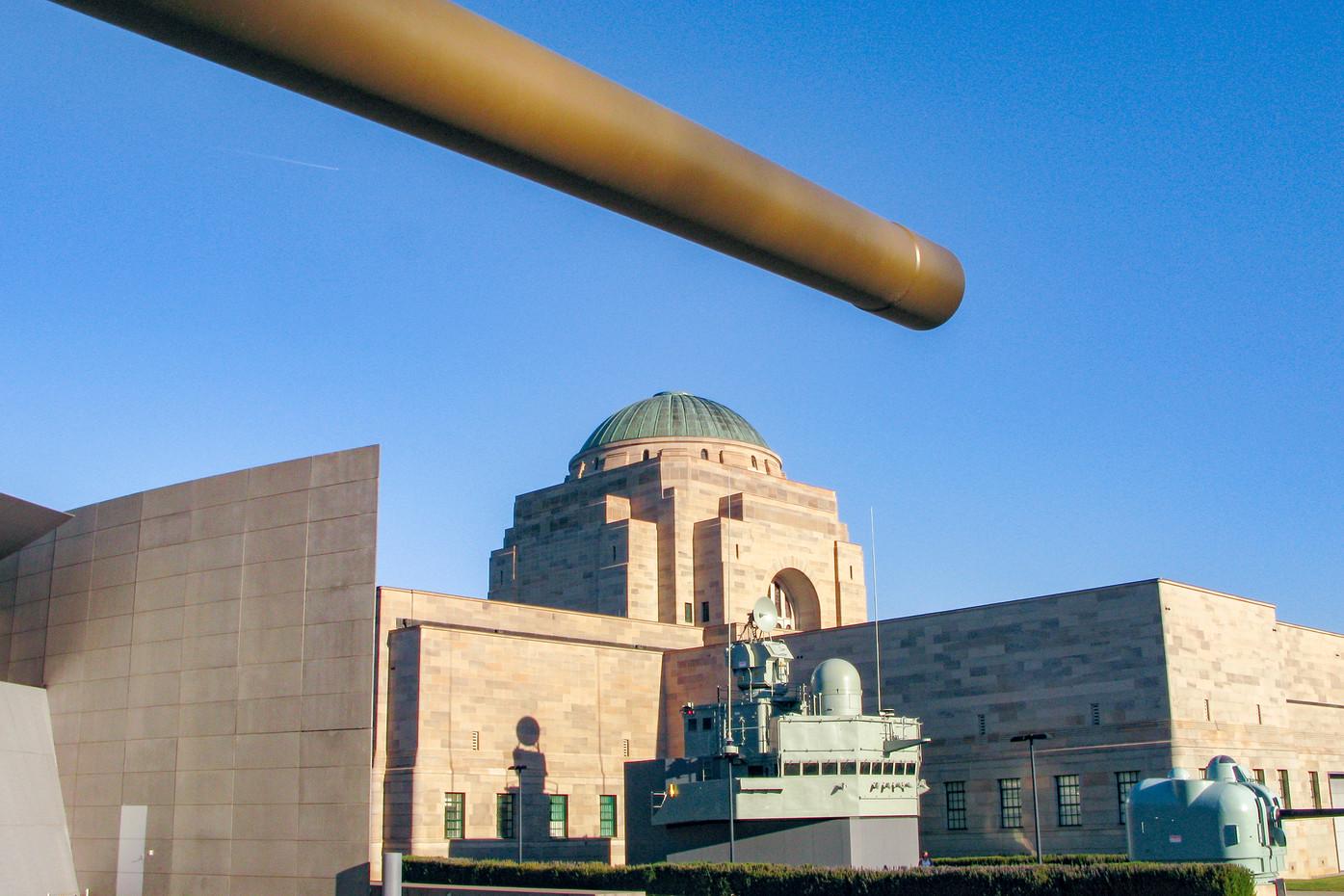 Australian War Memorial in Canberra, Australia