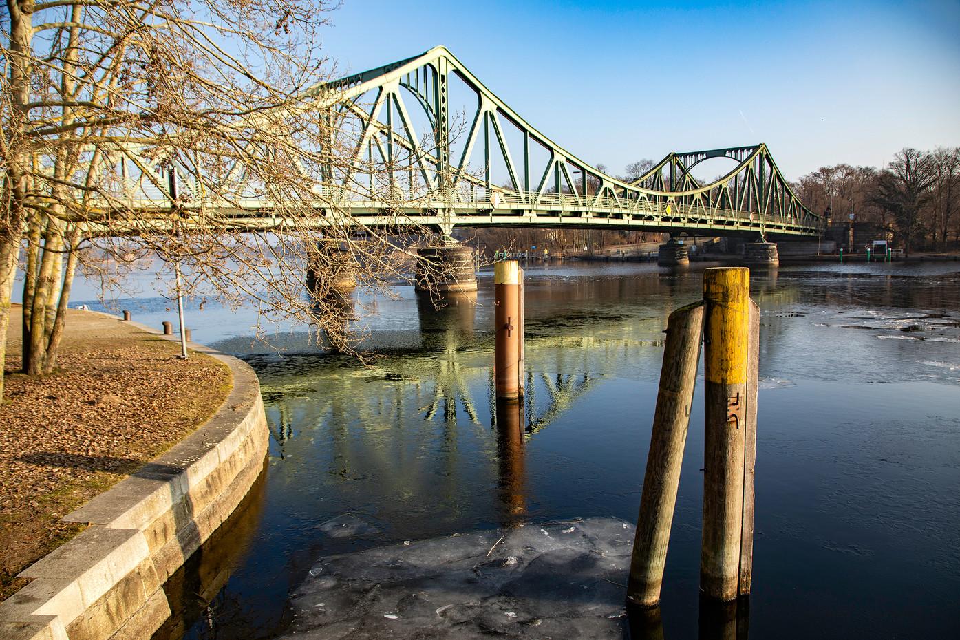 The Bridge of Spies in Potsdam, Germany