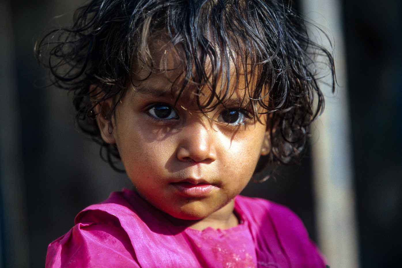 Young girl in Chittaurgarh, India
