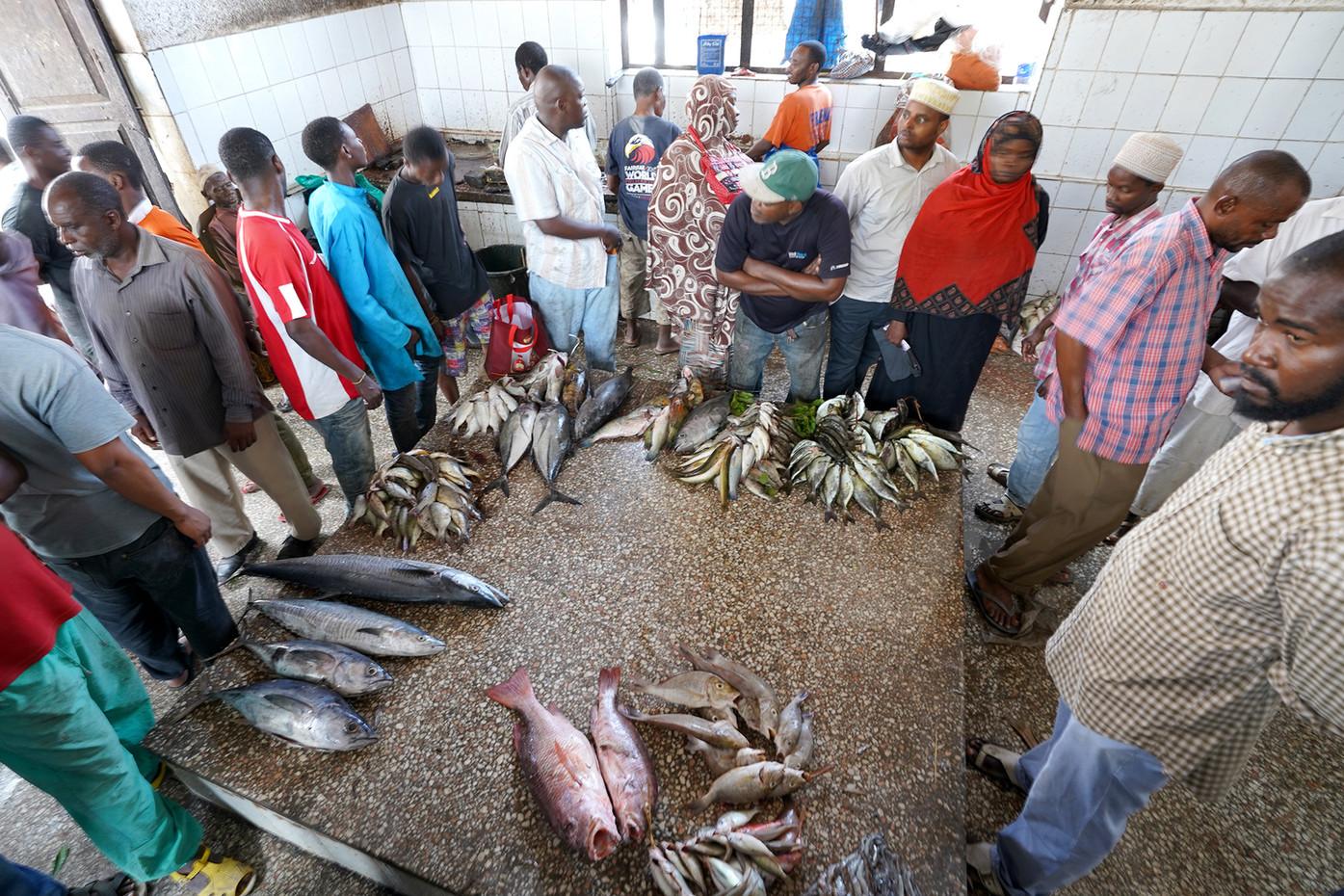 Zanzibar fish market, Tanzania