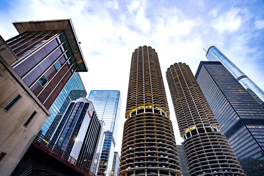 Marina City in Chicago, USA