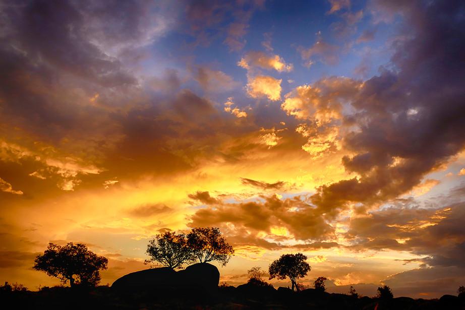 Sunset in the northern Serengeti NP, Tanzania