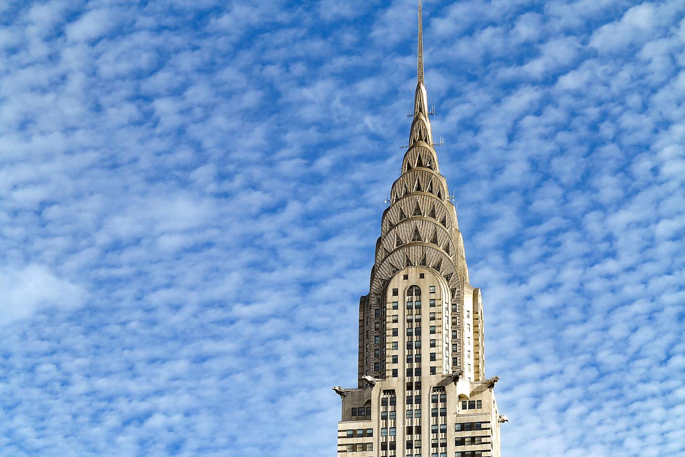 The Chrysler building in Manhattan, USA