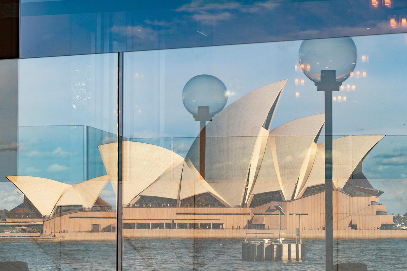 Sydney Opera House reflection, Australia