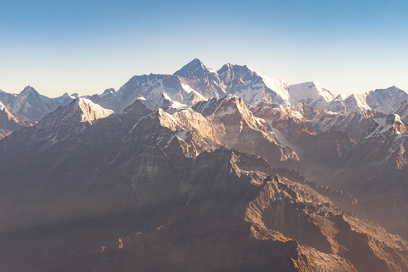 Mount Everest & Himalayas mountain range, Nepal