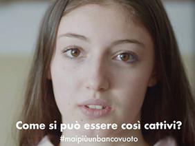 #maipiùunbancovuoto