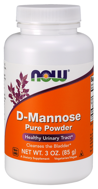 D-Mannose Powder - Now Foods