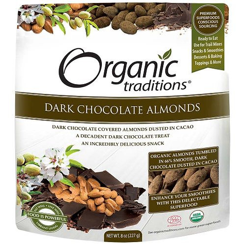 Dark Chocolate Almonds - Organic Traditions