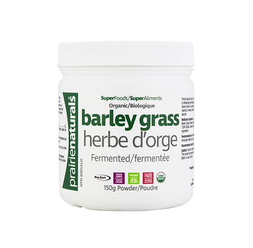 Barley Grass - Organic & Fermented - Prairie Naturals®