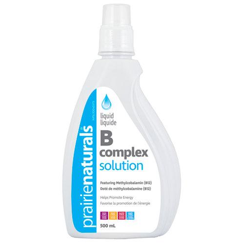 Vitamin B - Liquid B Complex Solution - Prairie Naturals