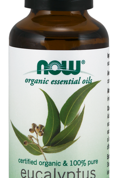Eucalyptus Globulus Oil - Organic - NOW®