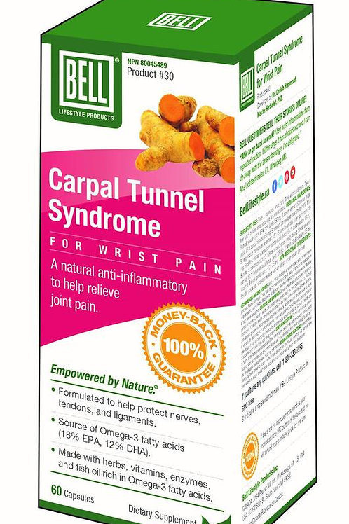 Carpal Tunnel Syndrome for Wrist Pain - Bell Lifestyle Products