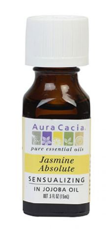 Jasmine Absolute - Sensualizing - in Jojoba oil - Aura Cacia®