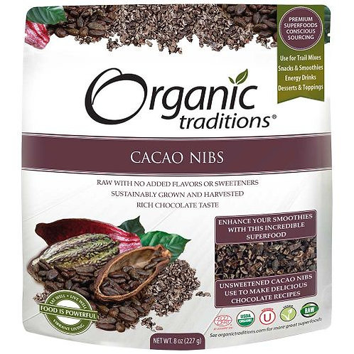 Cacao Nibs - Organic Traditions