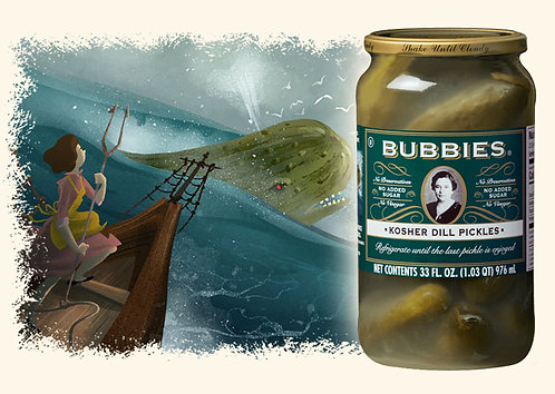 Dill Pickles - Kosher - Bubbies
