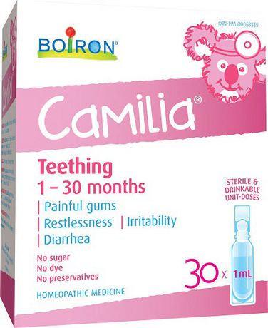 Teething 1-30 months - Camilia - Boiron