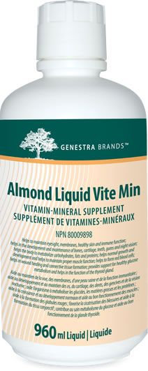 Almond Liquid Liquid Vite Min - Genestra
