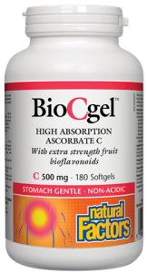 Vitamin C -Ascorbate C - BioCgel - Natural Factors