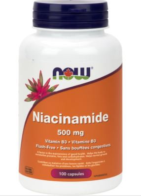 Niacinamide -NOW Foods