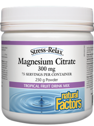Magnesium Citrate - Stress-Relax - Natural Factors