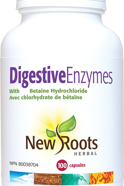 Digestive Enzymes - New Roots Herbal