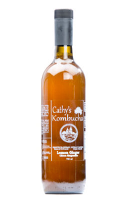 Kombucha - Lemon Ginger - Cathy's