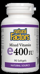 Vitamin E - Mixed - Natural Factors