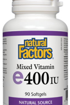 Vitamin E - Mixed - Natural Factors