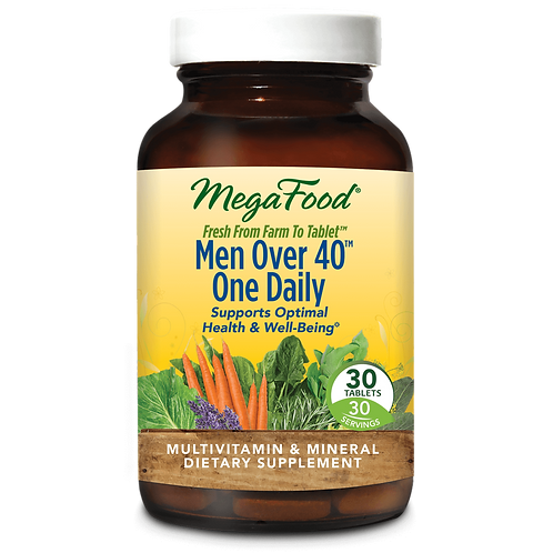 Multivitamin - Men 40+ - Iron Free - Mega Food