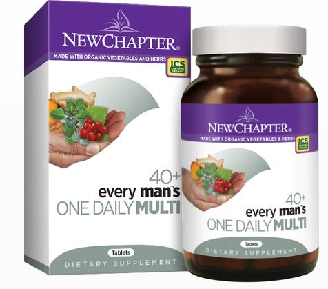 Multivitamin - Men 40+ - New Chapter