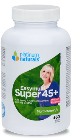 Multivitamin - Easymulti Super 45+ - Platinum Naturals