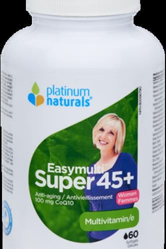 Multivitamin - Easymulti Super 45+ - Platinum Naturals