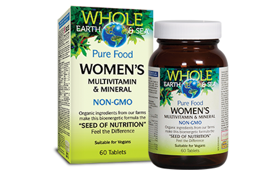 Multivitamin - Women - Whole Earth & Sea
