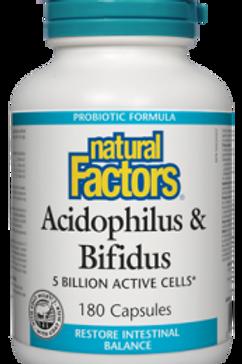Acidophilus & Bifidus - Probiotics - Natural Factors