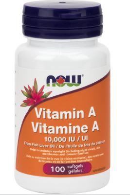 Vitamin A -10,000 IU - Now Foods