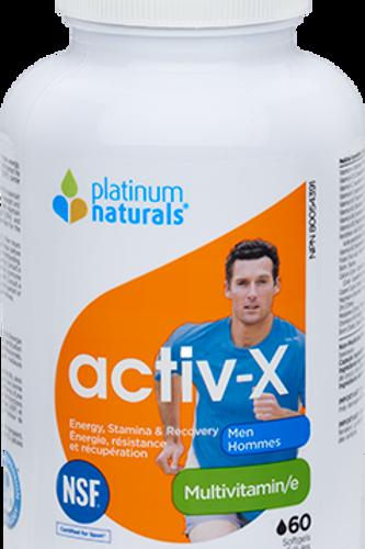 Multivitamin -Activ-x for Men - Platinum Naturals