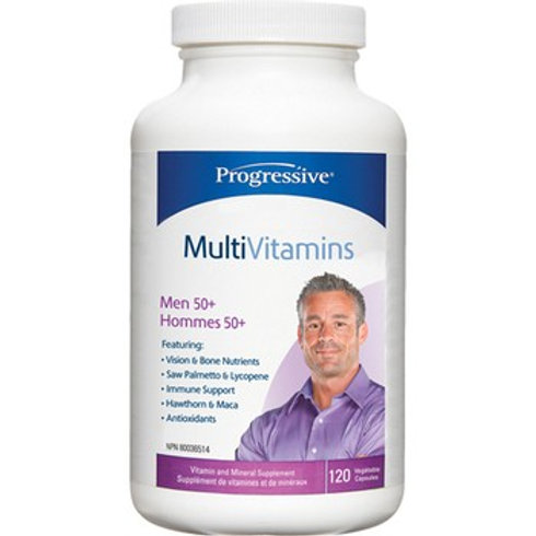Multivitamin - Men's 50+ - Progressive