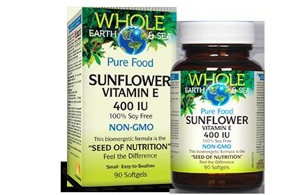 Vitamin E - Sunflower - Whole Earth & Sea
