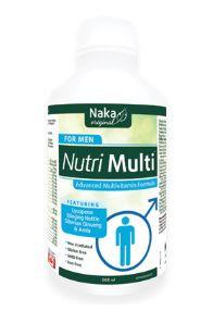 Multivitamin Liquid - Nutri Multi for Men - Naka