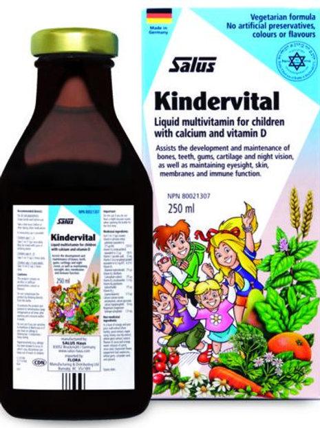 Multivitamin - Childrens - Kindervital - Flora
