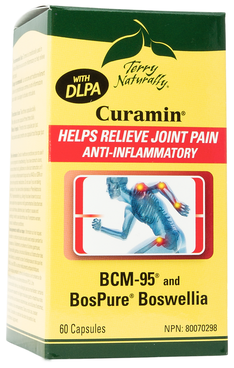 Curamin with DLPA - Terry Naturally