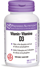 Vitamin D3 - Preferred Nutrition