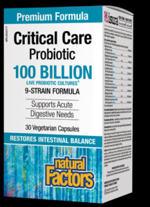 Critical Care Probiotic - 9 Strain - Natural Factors