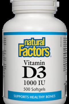 Vitamin D3 - Natural Factors