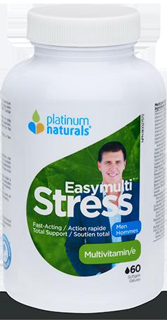 Multivitamin -Easymulti Stress - Men - Platinum Naturals