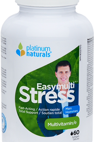 Multivitamin -Easymulti Stress - Men - Platinum Naturals