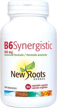 Vitamin B6 - Syngergistic - New Roots Herbal